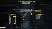Two Shot Hardened 10mm Submachine Gun - Level 50