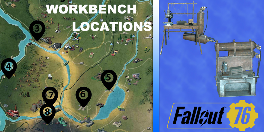 The Most Completed Fallout 76 Workbench Locations Guide