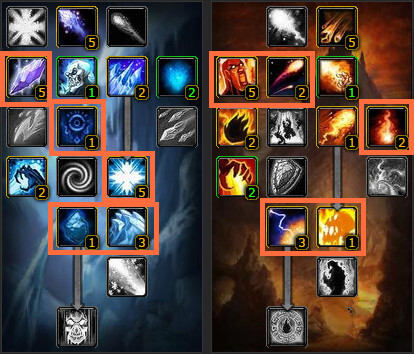 WOW Classic Mage PVP Talent Guide - Frost and Fire - blog