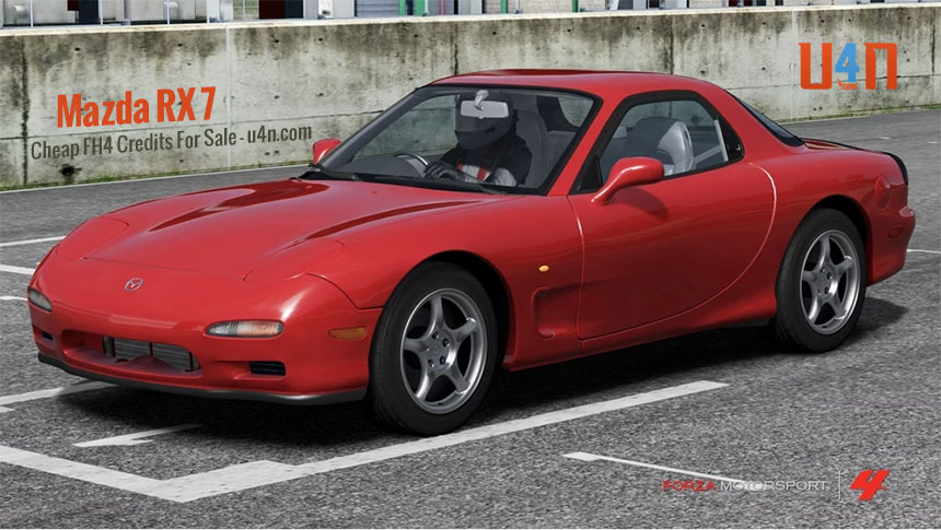 Forza Horizon 4 Drifted car that was overlooked - Mazda RX 7
