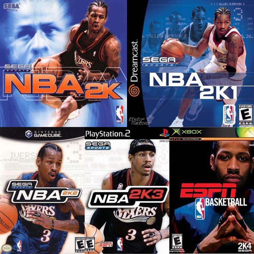 NBA 2K Series Cover Stars of past generations inventory! Who is the king of the ball in your heart?