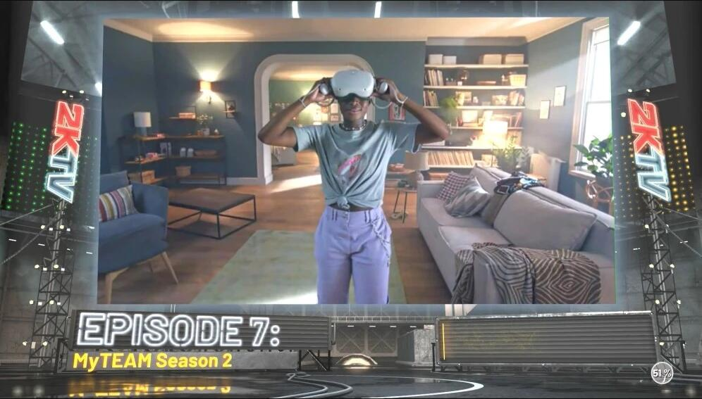 Watching advertisements in midfield? NBA 2K21 cutscenes loading screen showing non-skippable ads