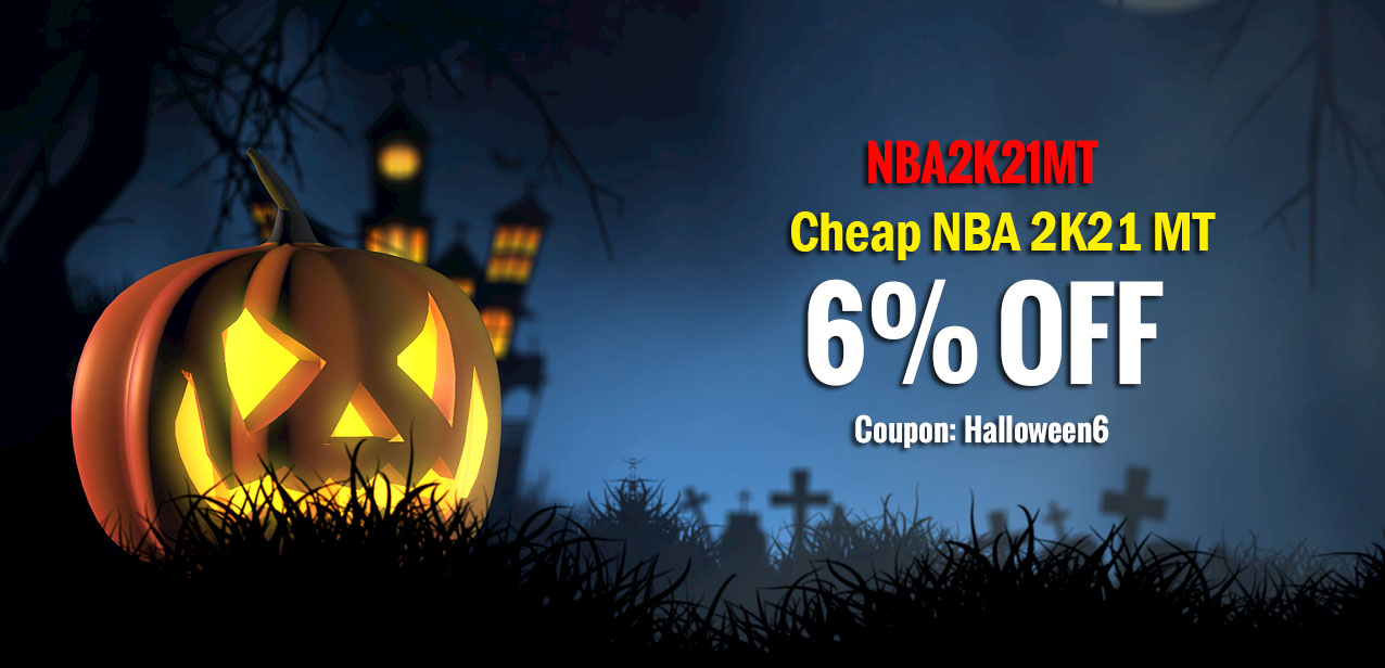 NBA2K21MT 2020 Halloween Big Sale Promotion