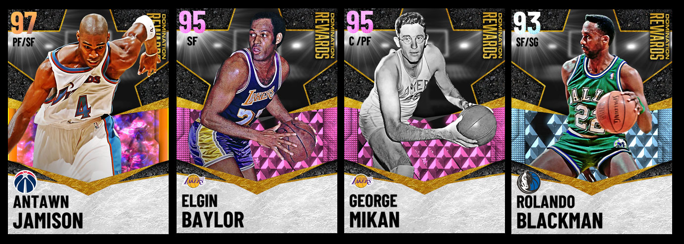 NBA 2K21 Season 4 Domination Grand Prize Content and Player Cards Reward Introduction