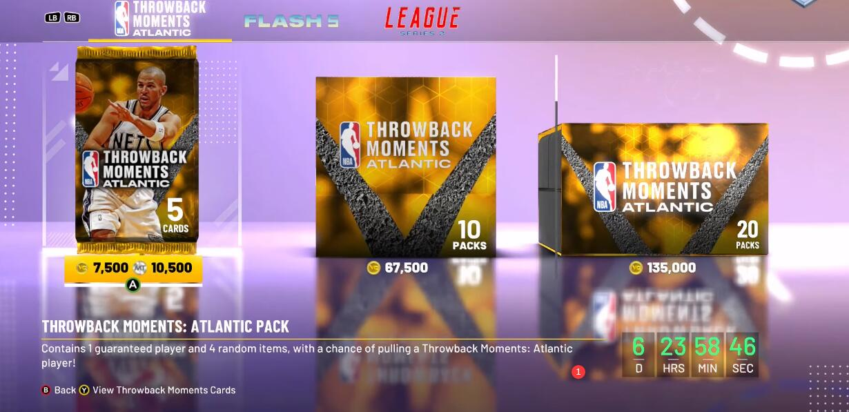 NBA 2K21 Throwback Moments Atlantic Pack Mission List and Pink Diamond Kidd Mission